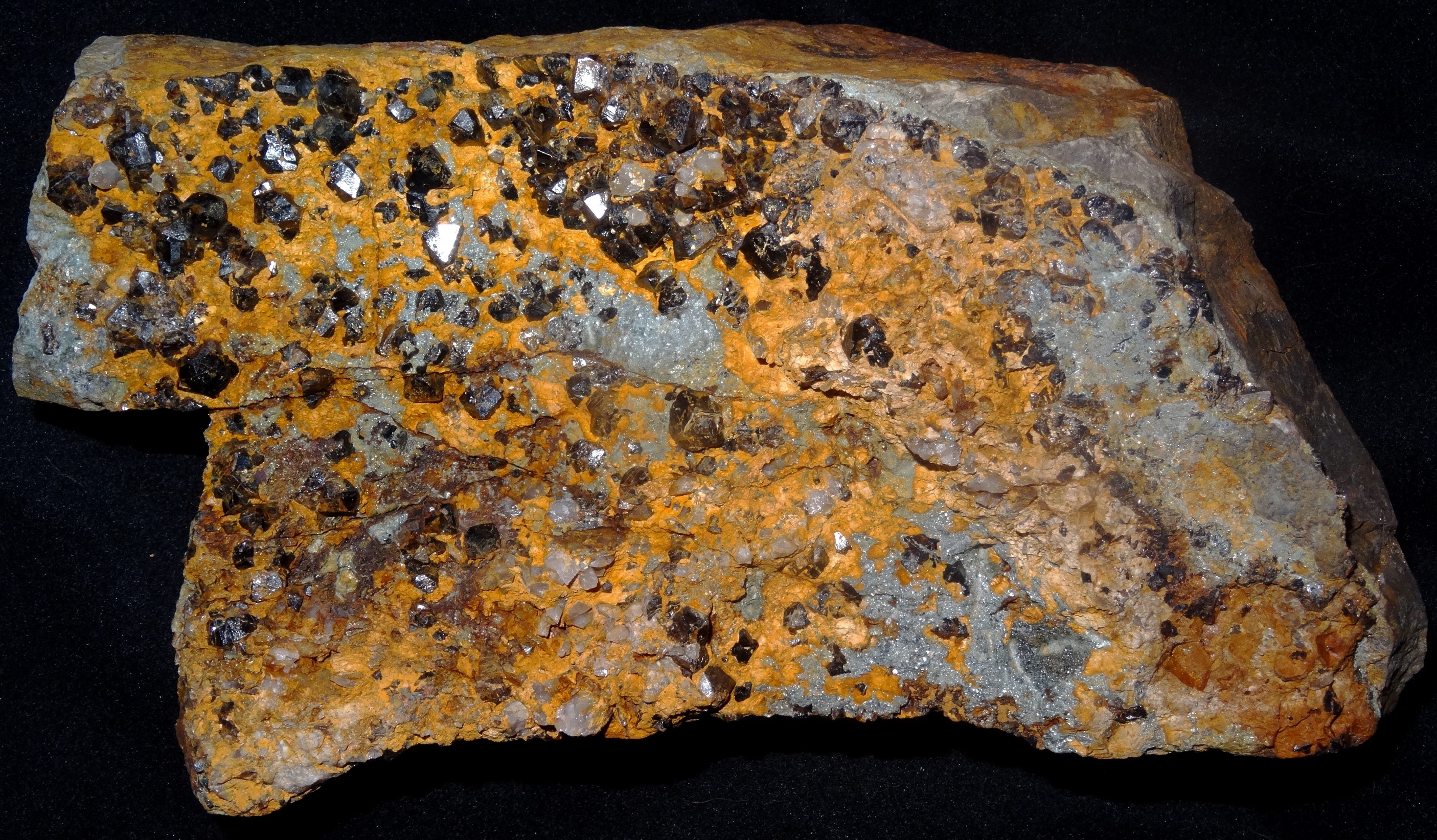 Close up photo of Cligga mineral