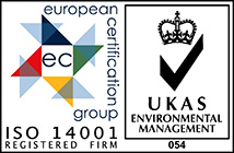 European Certification group ISO 14001 Registered firm