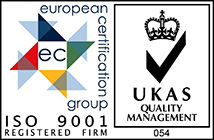 European Certification group ISO 9001 Registered firm
