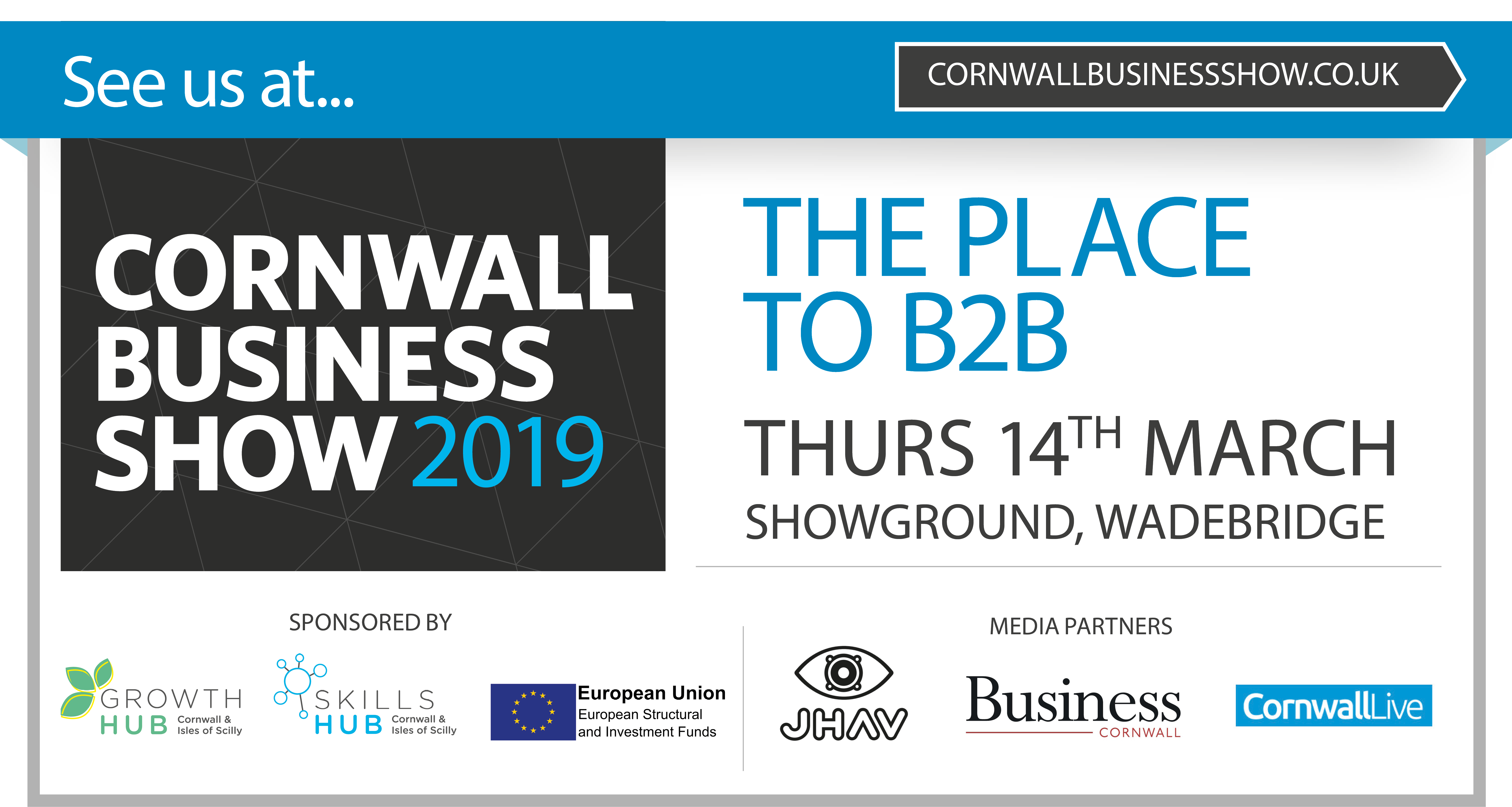 Cornwall Business show poster